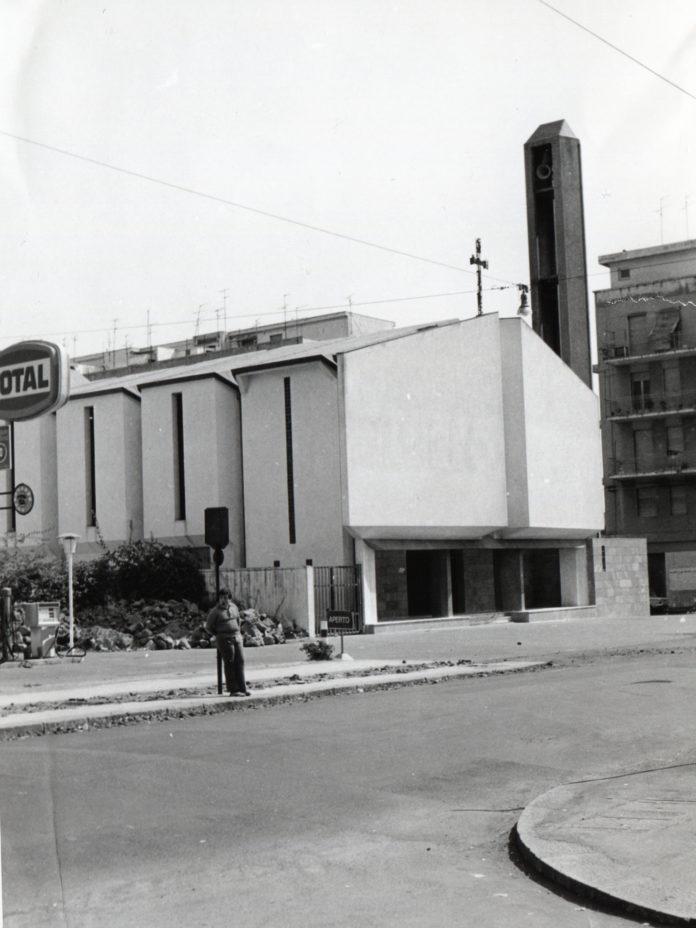 Foto antica della chiesa